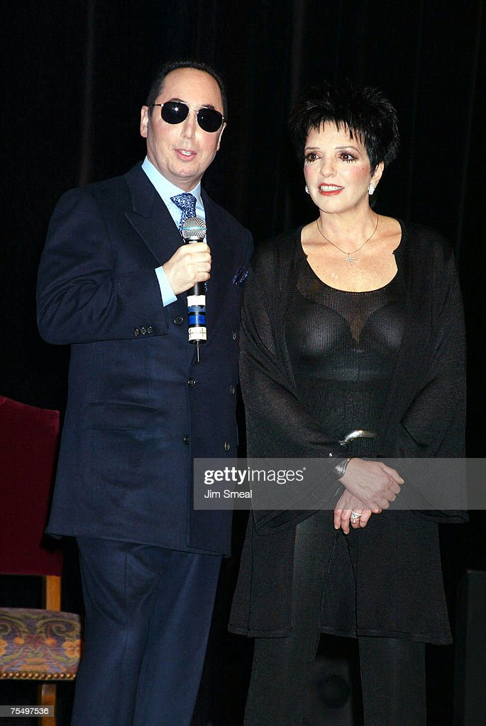 David Gest and Liza Minnelli at the House of Blues in West Hollywood, California
