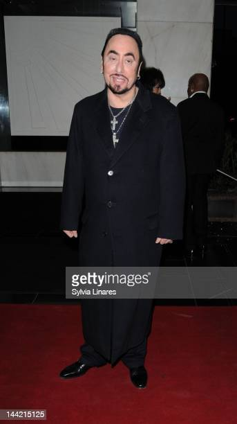 David Gest attends David Gest and Patsy Palmer's Birtday Party held at the Grand Connaught Rooms on May 11 2012 in London England