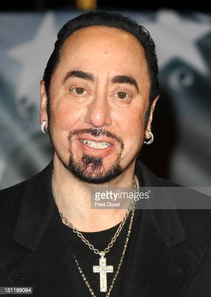 David Gest attends the UK premiere of 'Michael Jackson The Life Of An Icon' at Empire Leicester Square on November 2 2011 in London England