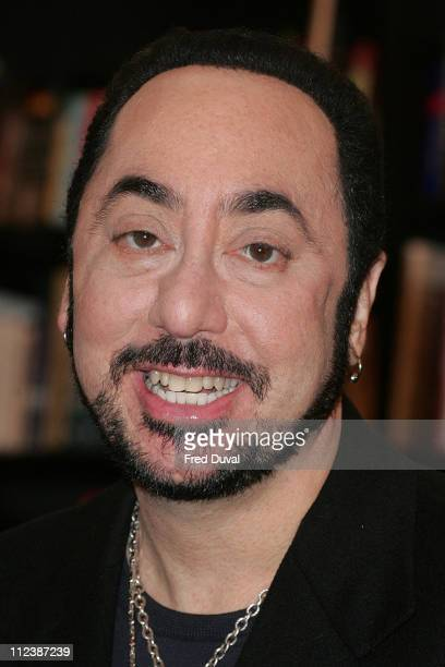 David Gest during David Gest Promotes His Book 'Simply The Gest' at Waterstones in London April 17 2007 at Waterstones Bookshop in London Great...