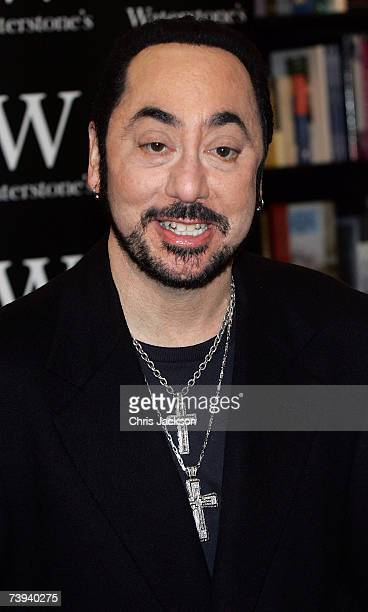 David Gest is seen at the book signing for his autobiography 'Simply the Gest' at Waterstones on April 21 2007 in London England