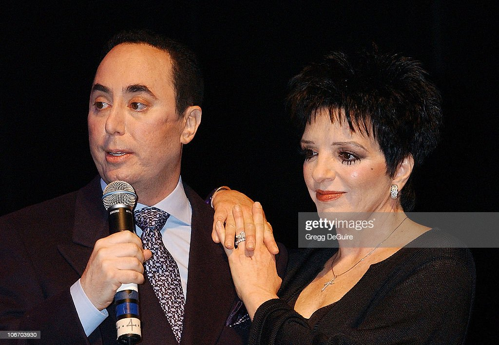 David Gest & Liza Minnelli during Liza Minnelli & David Gest Announce Their New VH1 Musical Reality Series, 'Liza & David' at House of Blues in West Hollywood, California, United States.