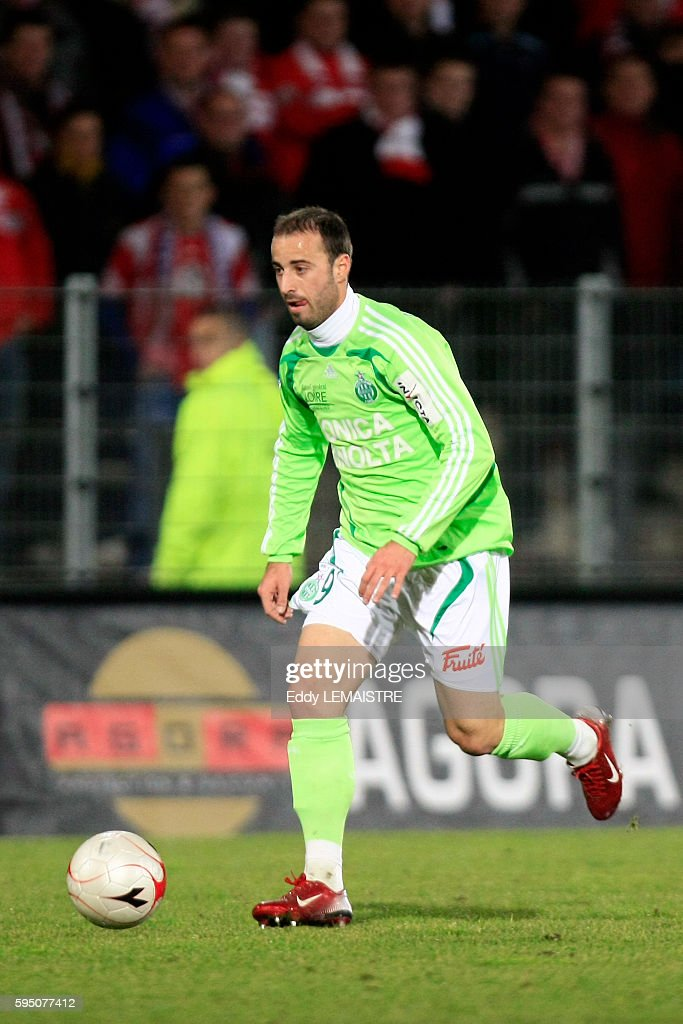 David Gigliotti during the French Ligue 1 soccer match between Valenciennes and AS Saint Etienne