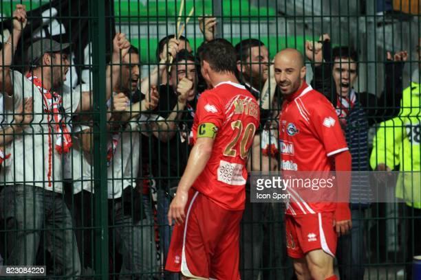 David GIGLIOTTI / Mehdi MOSTEFA Troyes / Nimes 33eme journee de Ligue 2