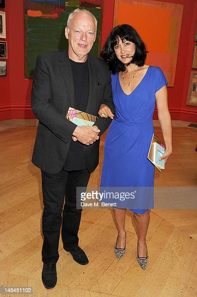 David Gilmour and Polly Samson attend the Royal Academy of Arts Summer Exhibition Preview Party at Royal Academy of Arts on May 30 2012 in London...