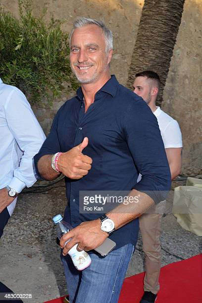 David Ginola attends the 'Fight Night 2015' Gala Show at La Citadelle de Saint Tropez on on August 4 2015 in SaintTropez France