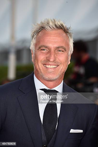 David Ginola attends 'The Hundred Foot Journey' Premiere on September 6 2014 in Deauville France
