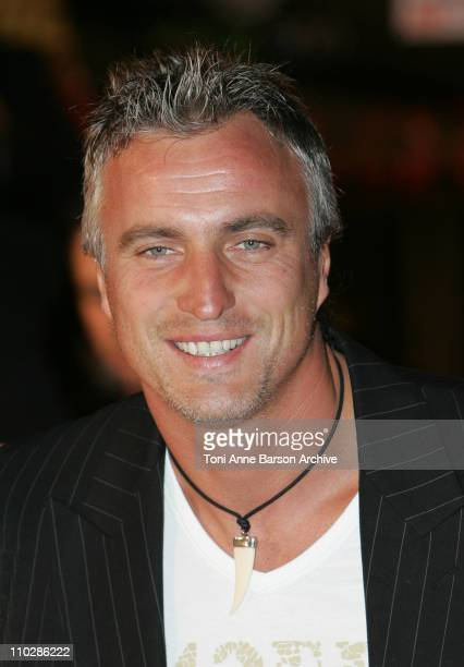 David Ginola during 2006 NRJ Music Awards Arrivals at Palais des Festivals in Cannes France