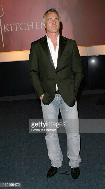 David Ginola during 'Hell's Kitchen II' Day 11 Arrivals at Truman Brewery in London Great Britain