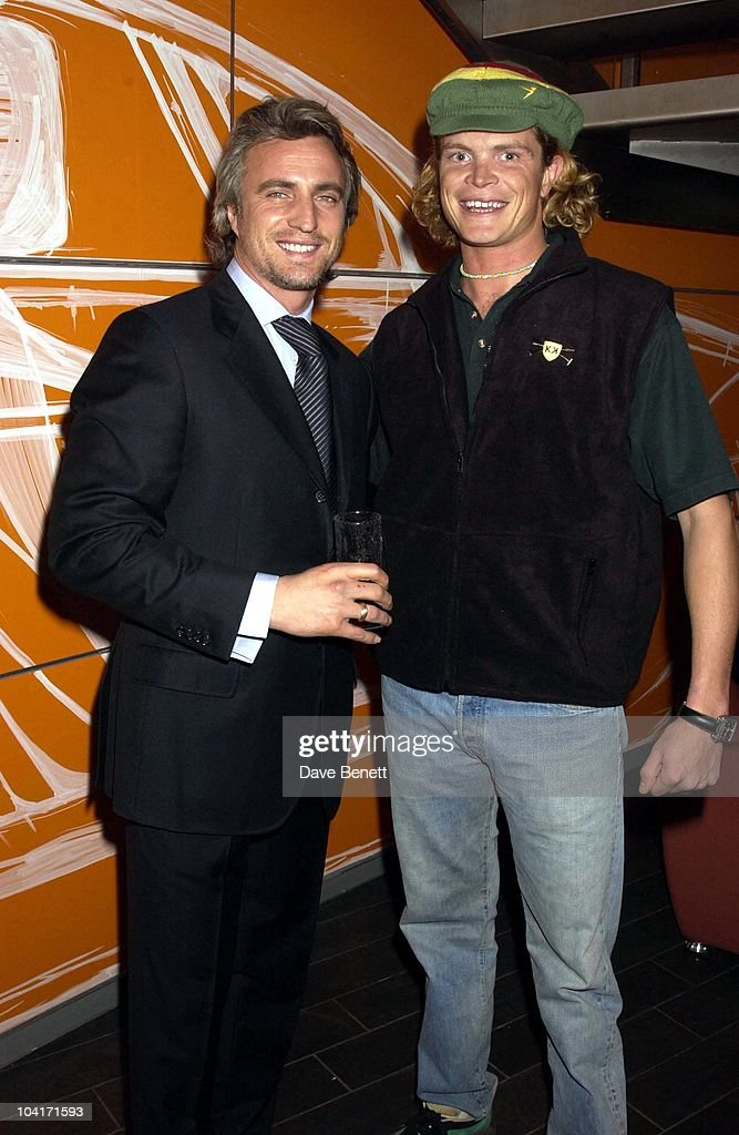 David Ginola With Jack Kidd, Designs Of The Times Auction Launch Party, At The Audi Forum, On Behalf Of The Norwood And Demelza House