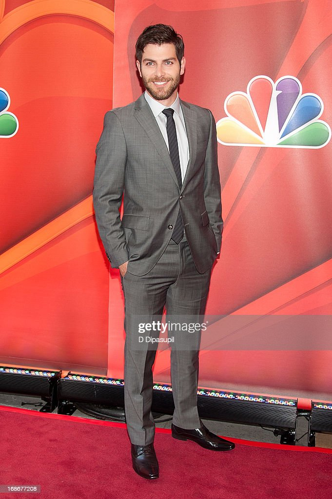 David Giuntoli attends the 2013 NBC Upfront Presentation Red Carpet Event at Radio City Music Hall on May 13, 2013 in New York City.