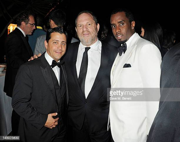 David Glasser Harvey Weinstein and Sean 'P Diddy' Combs attend the 'Killing Them Softly' after party hosted by Chopard Matchless and Johnnie Walker...