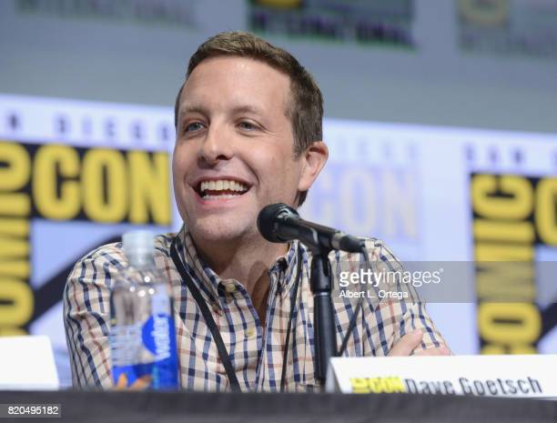 David Goetsch speaks onstage at ComicCon International 2017 'The Big Bang Theory' panel at San Diego Convention Center on July 21 2017 in San Diego...