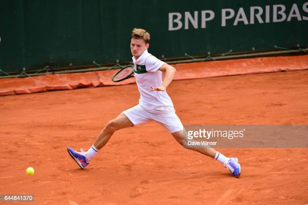 David GOFFIN Jour 2 Roland Garros 2015 Photo Dave Winter / Icon Sport