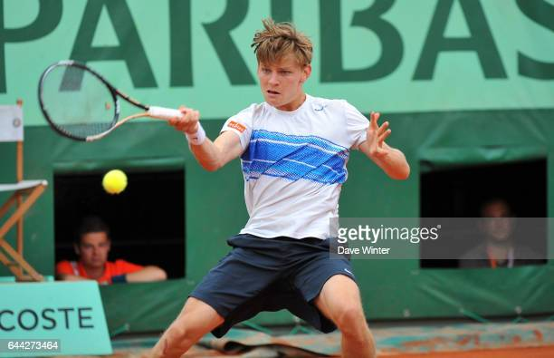 David GOFFIN Roland Garros 2012 Photo Dave Winter / Icon Sport