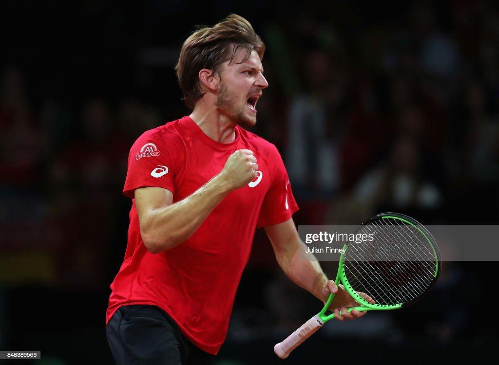 Belgium v Australia - Davis Cup World Group Semi Final: Day 3