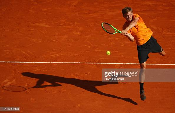 ATP Masters Series: Monte Carlo Rolex Masters - Day Seven : News Photo