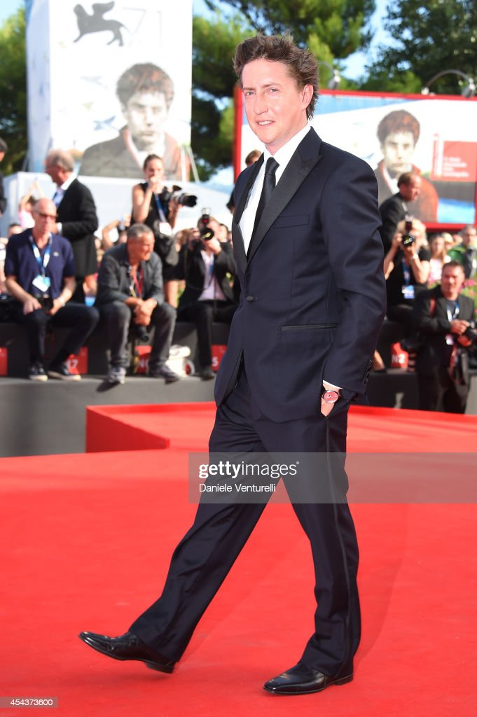 David Gordon Green attends 'Manglehorn' Premiere during the 71st Venice Film Festival at Sala Grande on August 30 2014 in Venice Italy