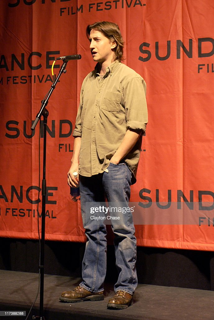 David Gordon Green director during 2007 Sundance Film Festival 'Snow Angels' Premiere at Racquet Club Theater in Park City Utah United States
