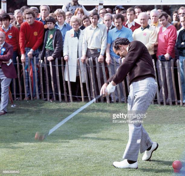 David Graham of Austalia in action during the Piccadilly World Match Play Championship At Wentworth Golf Club in Surrey circa October 1970