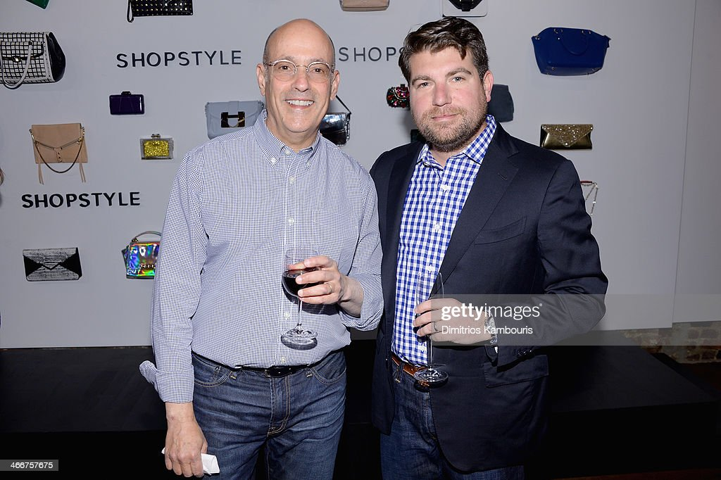David Grant and Brian Sugar attend the launch of We Search. We Find. We ShopStyle on February 3, 2014 in New York City.