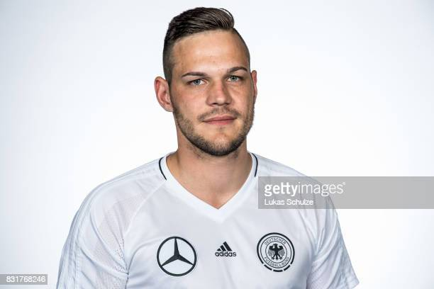 David Graudejus poses at Sport School Wedau on August 11 2017 in Duisburg Germany