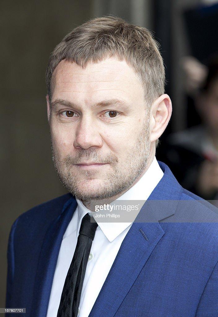 David Gray Arrives At The Ivor Novello Awards Arrivals At Grosvenor House Hotel In London.