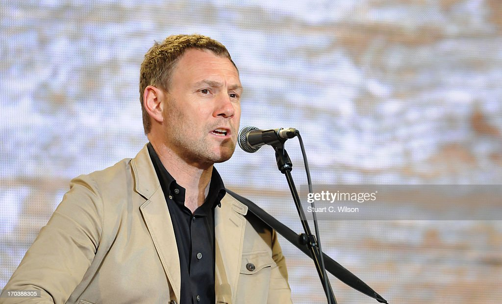 David Gray performs at agit8 at Tate Modern, ONE's campaign ahead of the G8 on June 12, 2013 in London, England.