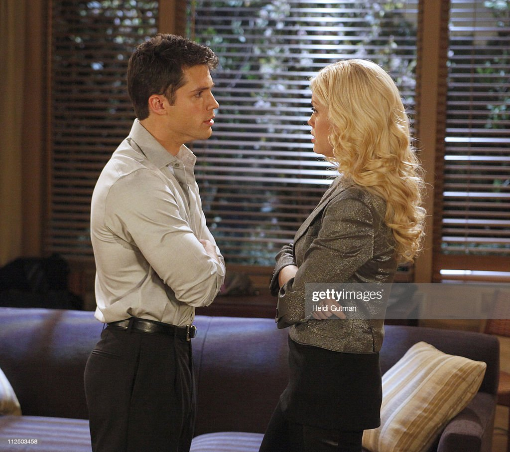 LIVE - David Gregory (Ford) and Bree Williamson (Jessica) in a scene that begins airing the week of May 2, 2011 on ABC Daytime's 'One Life to Live.' 'One Life to Live' airs Monday-Friday (2:00 p.m. - 3:00 p.m., ET) on the ABC Television Network. OLTL11(Photo by Heidi Gutman/ABC via Getty Images)DAVID GREGORY, BREE WILLIAMSON