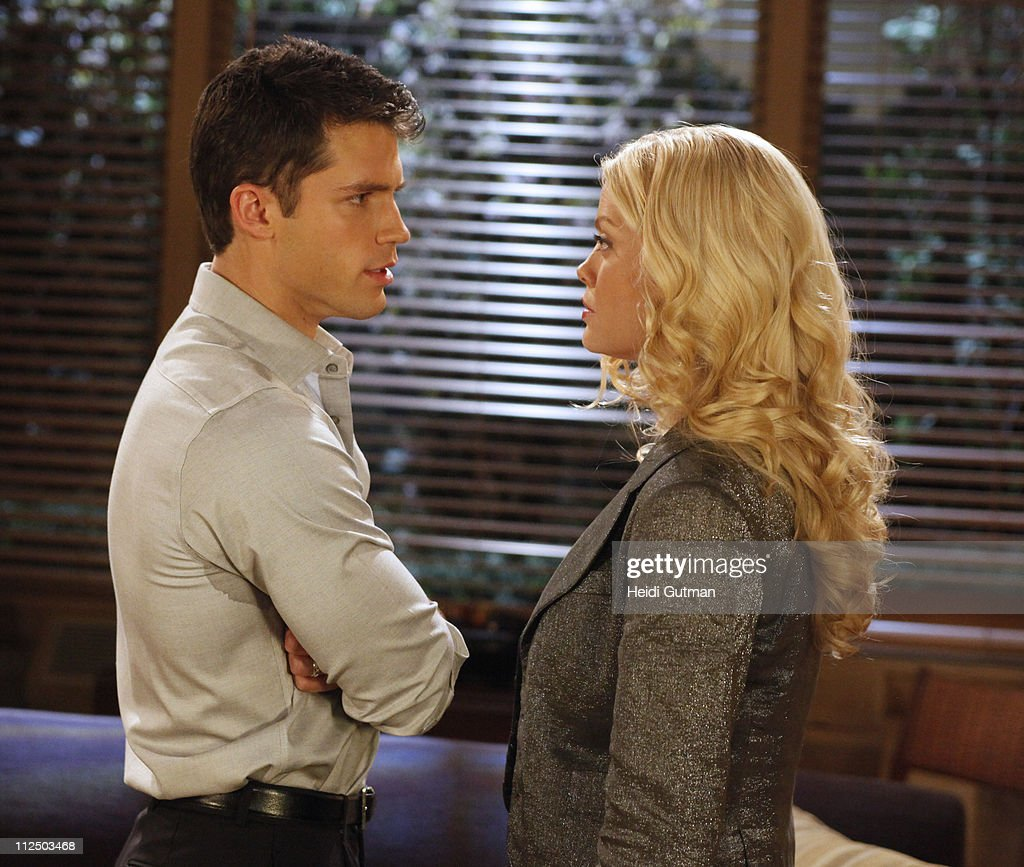LIVE - David Gregory (Ford) and Bree Williamson (Jessica) in a scene that begins airing the week of May 2, 2011 on ABC Daytime's 'One Life to Live.' 'One Life to Live' airs Monday-Friday (2:00 p.m. - 3:00 p.m., ET) on the ABC Television Network. OLTL11(Photo by Heidi Gutman/ABC via Getty Images)DAVID
