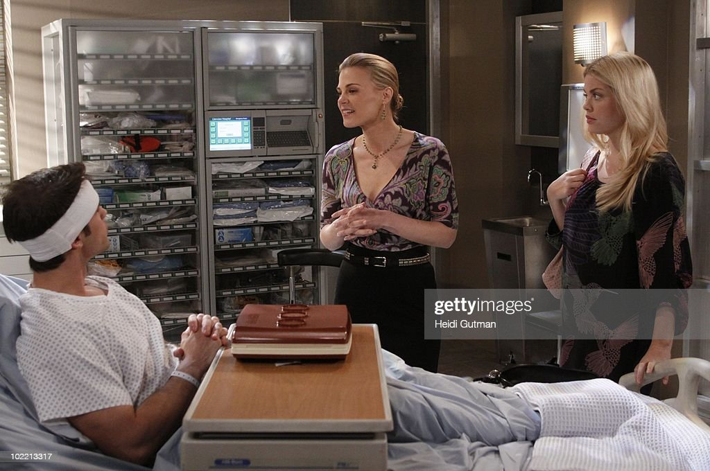 LIVE - David Gregory (Ford), Gina Tognoni (Kelly) and Bree Williamson (Jessica) in a scene that airs the week of June 14, 2010 on ABC Daytime's 'One Life to Live.' 'One Life to Live' airs Monday-Friday (2:00 p.m. - 3:00 p.m., ET) on the ABC Television Network. OLTL10 (Photo by Heidi Gutman/ABC via Getty Images) DAVID