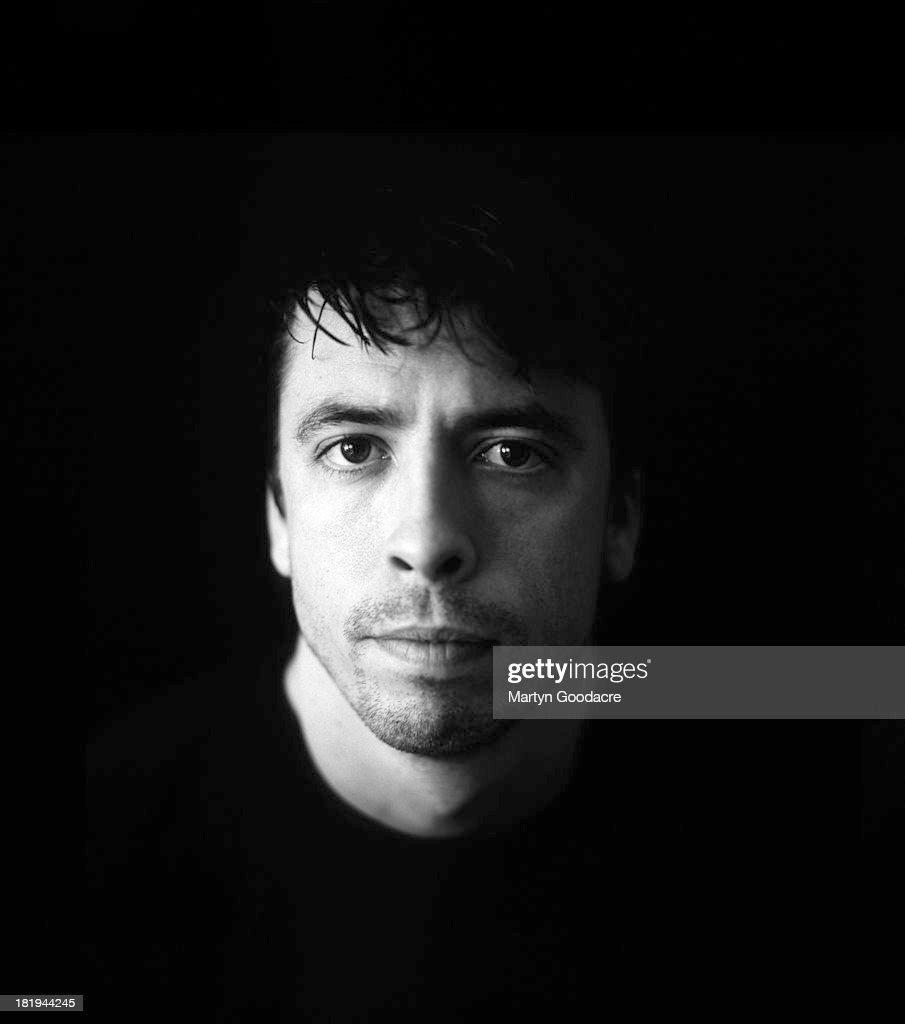 David Grohl of Foo Fighters poses for a studio portrait, London, 1997.