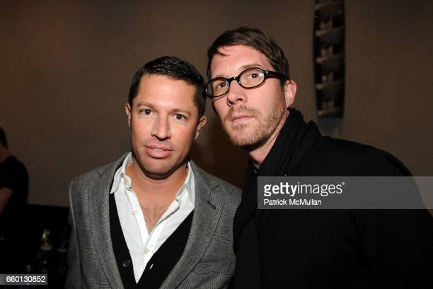 David Gruning and Stephen Keefe attend ROGER PADILHA MAURICIO PADILHA Celebrate Their Rizzoli Publication THE STEPHEN SPROUSE BOOK Hosted by DEBBIE...
