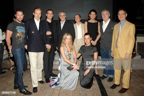 David Gruning Simon de Pury Moti Shniberg David Ross Brooke Geahan Prosper Assouline Maya Camin Martine Assouline Glenn O'Brien and Jeffrey Deitch...