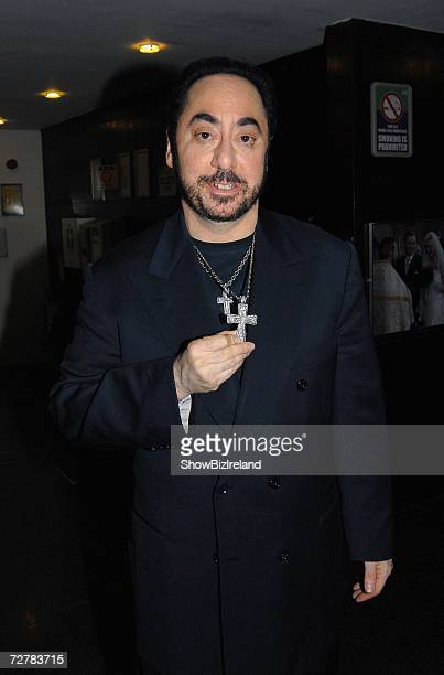 David Guest arrives for The Late Late Show on December 8 2006 in Dublin Ireland