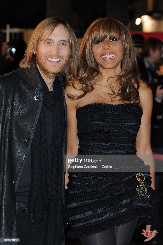 David Guetta and Cathy Guetta attend the NRJ Music Awards 2011 at the 'Palais des Festivals et des Congres' in Cannes.
