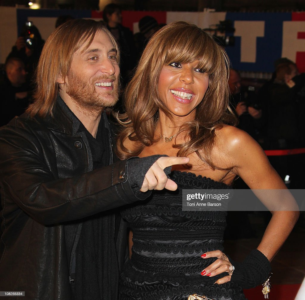 David Guetta and Cathy Guetta attend the NRJ Music Awards 2011 on January 22 2011 in Cannes France