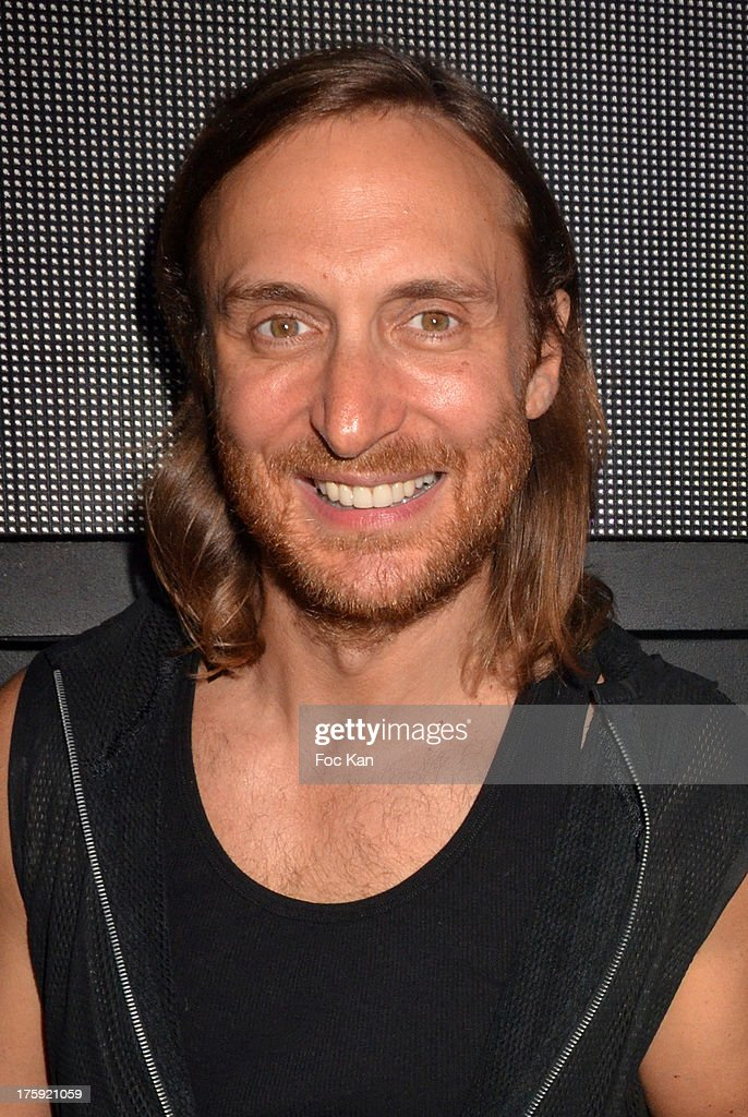 David Guetta atteds The Gotha Club on August 3, 2013 in Saint Tropez, France.