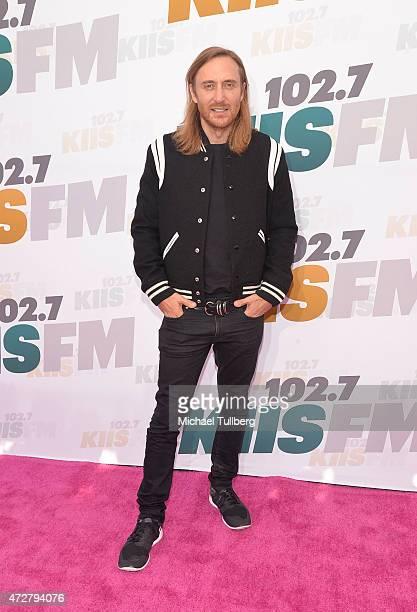 David Guetta attends 1027 KIIS FM's Wango Tango 2015 at StubHub Center on May 9 2015 in Los Angeles California