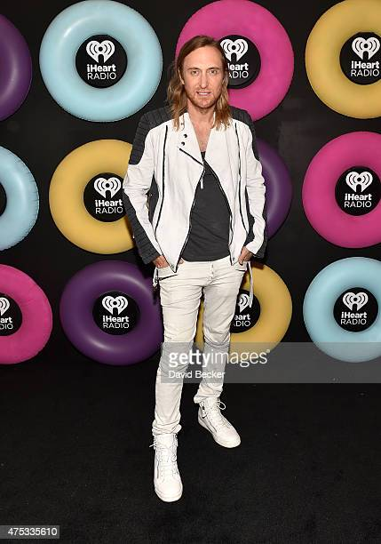 David Guetta attends The iHeartRadio Summer Pool Party at Caesars Palace on May 30 2015 in Las Vegas Nevada