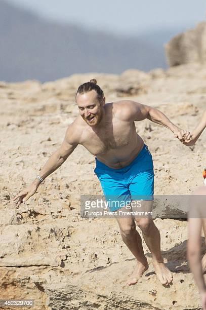 David Guetta is seen on July 17 2014 in Ibiza Spain