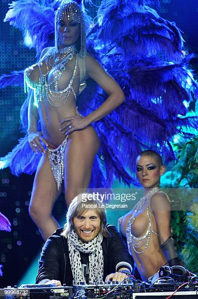 David Guetta onstage during the World Music Awards 2010 at the Sporting Club on May 18 2010 in Monte Carlo Monaco