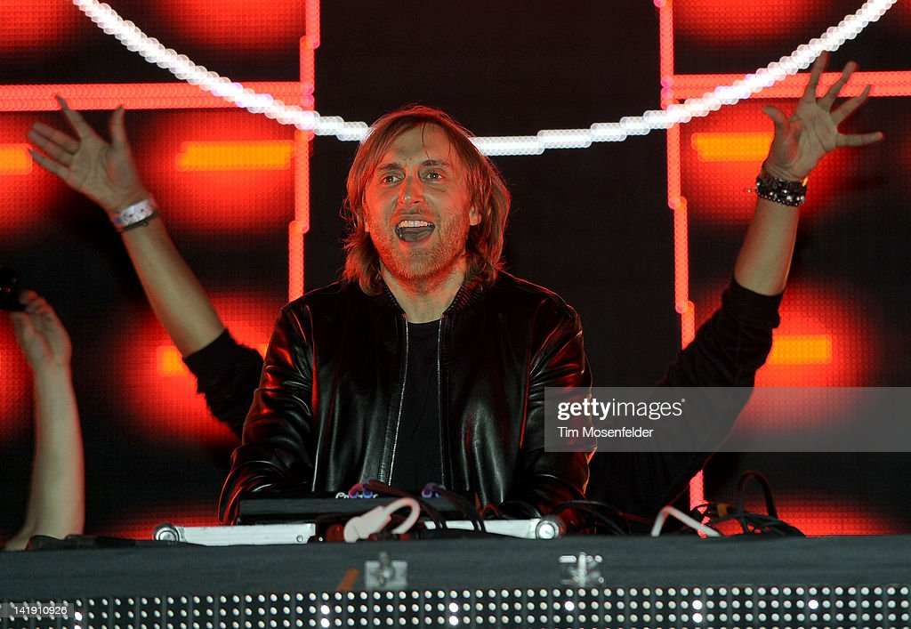 David Guetta performs as part of Day Three of Ultra Music Festival 14 at Bayfront Park on March 25, 2012 in Miami, Florida.
