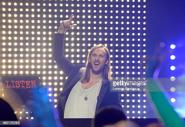 AMERICA David Guetta performs live on 'Good Morning America' 11/24/14 airing on the ABC Television Network