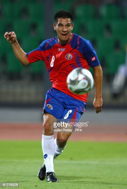 David Guzman of Costa Rica scores the 30 goal during the FIFA U20 World Cup Group E match between Australia and Costa Rica at the Port Said Stadium...