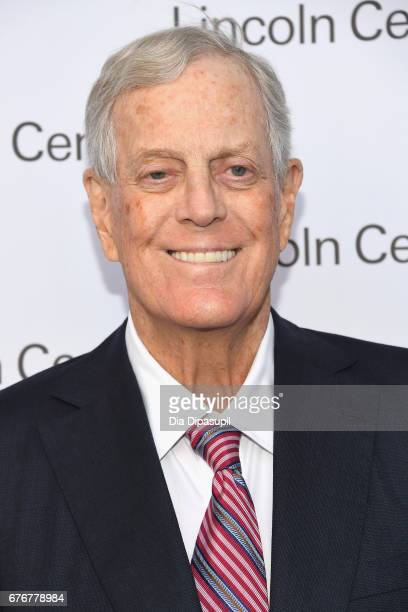David H Koch attends the Lincoln Center Spring Gala at Alice Tully Hall on May 2 2017 in New York City