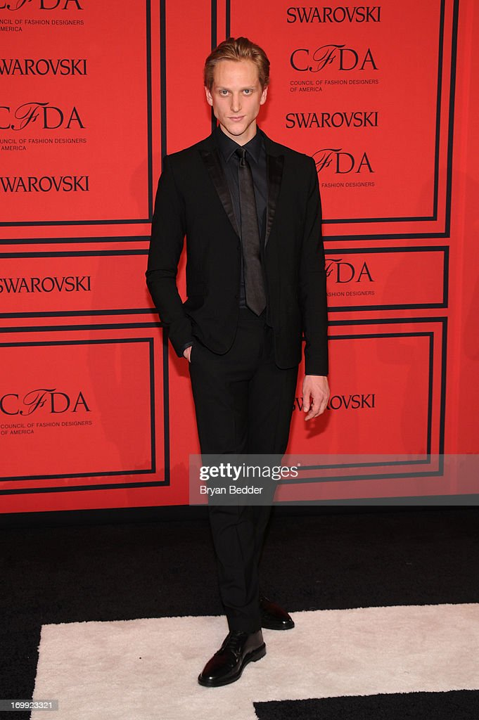 David Hallberg attends 2013 CFDA FASHION AWARDS Underwritten By Swarovski - Red Carpet Arrivals at Lincoln Center on June 3, 2013 in New York City.