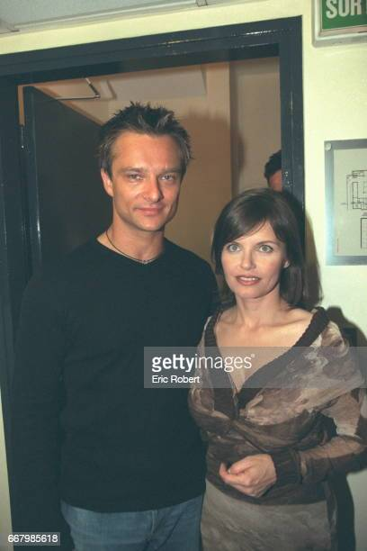 David Hallyday and Diane Tell