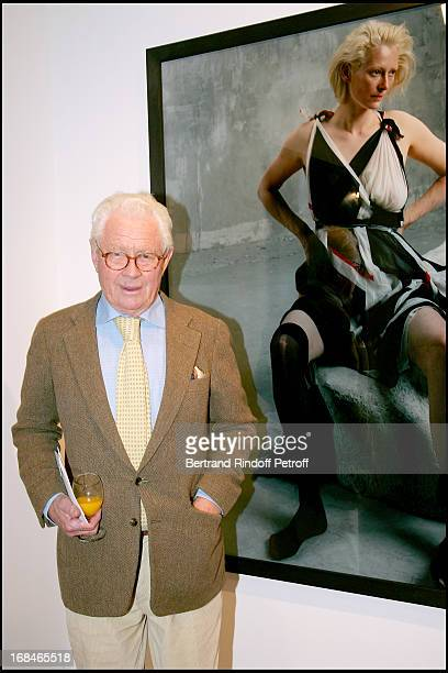 David Hamilton at Opening Of The Exhibition 'Bettina Rheims Heroes' In Paris