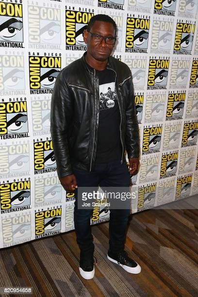David Harewood arrives at the 'Supergirl' press line at ComicCon International 2017 on July 22 2017 in San Diego California